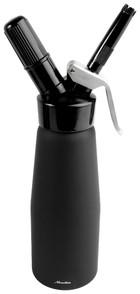 Gräddsifon 0,5 liter, svart, aluminium